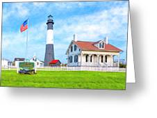 Historic Tybee Island Light Station Greeting Card