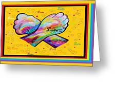 American Sign Language Love Greeting Card