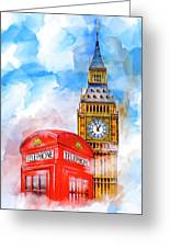 London Dreaming Greeting Card