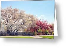 Untermyer Park Views Greeting Card