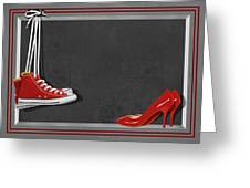 Shoes For Every Occasion Greeting Card