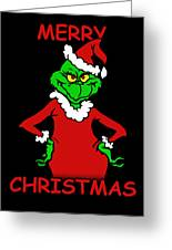 The Grinch Greeting Card
