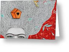 Home On My Mind Greeting Card