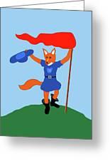 Reynard The Fairy Tale Fox Greeting Card