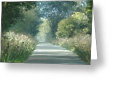 The Road Back Home Greeting Card