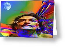 Dream Of Salvador Dali Greeting Card
