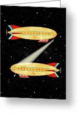 Z Is For Zeppelin Greeting Card