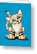 Sand Cat Greeting Card