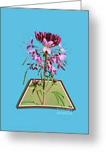 Rocky Mountain Bee Plant Greeting Card