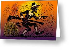 Thanksgiving Pilgrim Greeting Card
