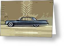 1961 Cadillac Fleetwood Sixty-special Greeting Card by Bruce Stanfield