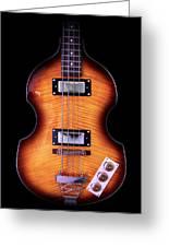 Epiphone Viola Bass Guitar Greeting Card
