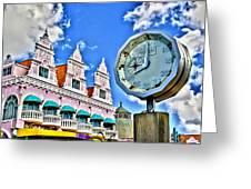 Aruba Time Greeting Card