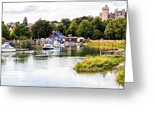 Arundel Greeting Card by Trevor Wintle