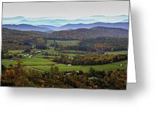 As Far As The Eyes Can See Greeting Card