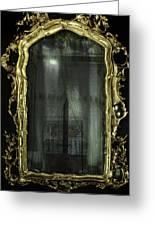 As Through A Glass Darkly  Greeting Card