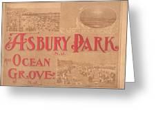 Asbury Park And Ocean Grove Greeting Card