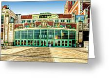 Asbury Park Convention Center Asbury Nj Greeting Card