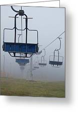 Ascent From The Mist Greeting Card