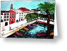 Ascona Imaginario Greeting Card