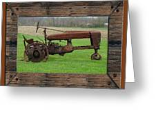Ashes To Ashes - Rust To Rust Greeting Card