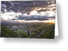 Asheville Nc Greeting Card