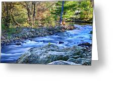 Asheville Stream Greeting Card
