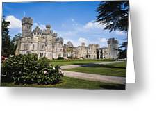 Ashford Castle, County Mayo, Ireland Greeting Card