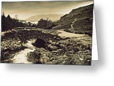 Ashness Bridge Cumbria England Greeting Card