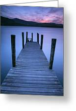 Ashness Jetty, Derwentwater, England Greeting Card