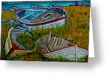 Ashore For Good Greeting Card