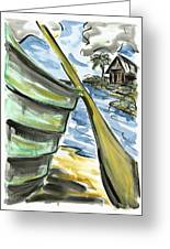 Ashore Greeting Card
