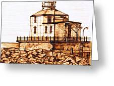 Ashtabula Harbor  Greeting Card
