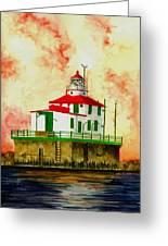 Ashtabula Lighthouse Greeting Card