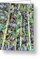 Asian Bamboo Forest Greeting Card