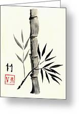 Asian Bamboo Greeting Card