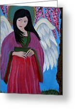 Asian Earthangel Tuyen Greeting Card