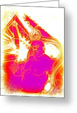 Asin Warrior Greeting Card
