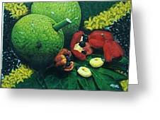 Ackee And Breadfruit  Greeting Card