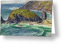 Asparagus Island Greeting Card