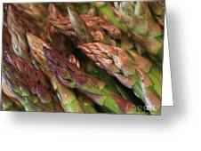 Asparagus Tips Greeting Card