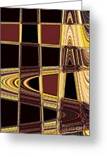 Aspen Grove Abstract Greeting Card