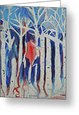 Aspen Roots Greeting Card