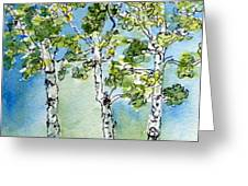 Aspen Trio Greeting Card