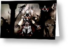 Assassin's Creed II Greeting Card