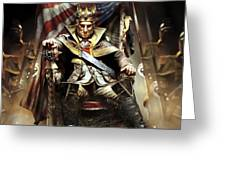 Assassin's Creed IIi Greeting Card