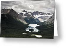 Assiniboine Vista Greeting Card
