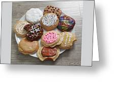 Assorted Cookies Greeting Card