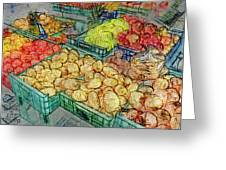 Assorted Market Fare 1 Greeting Card