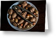 Assorted Nuts Greeting Card